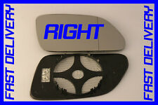 VW POLO mk4 FACELIFT MODA 2005-2009 DOOR WING MIRROR GLASS HEATED RIGHT