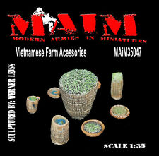Vietnamese Farm Accessories / 1/35 Scale Vietnam military model diorama