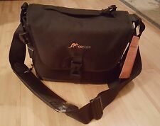 Large Camera Bag, Roocase DSLR, Black, for Canon, Nikon, Sony, Olympus, Samsung