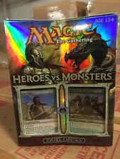 Magic The Gathering Heroes Vs Monsters Deck Set For Card Game MTG Duel Deck