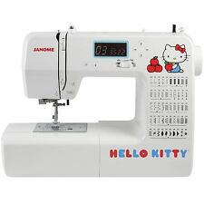 Janome 18750 Hello Kitty Computerized Sewing Machine with 50 Stitches, 3 1-step
