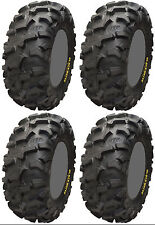 Four 4 ITP Blackwater Evolution ATV Tires Set 2 Front 26x9-12 & 2 Rear 26x11-12