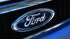 Ford Universal Front Or Rear Logo Badge Self Adhesive 115mm x 45mm Free P&P