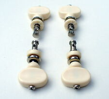 Set of 4 Ukulele Tuning Pegs Four Cream-Coloured Friction Pegs Machine Heads