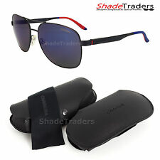 CARRERA ACTIVE SUNGLASSES MATTE BLUE/RED BLUE XT MIRROR 8015/S IDK 59mm
