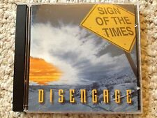 """Disengage """"Sign of the times"""" CD 1995, SALT"""