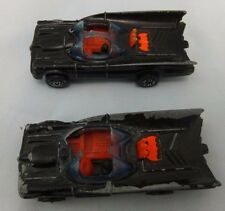 VINTAGE 1976 Batman DC Comics CORGI JUNIORS BATMOBILE AUTO da COLLEZIONE x 2