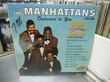 MANHATTANS Dedicated To You vinyl LP Collectables Records EX IN Shrink