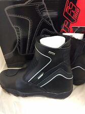 JOE ROCKET METEOR MID WATERPROOF TOURING MOTORCYCLE LEATHER BOOTS MENS SZ 9 U.S