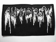 AUTOPSY EMBROIDERED  PATCH