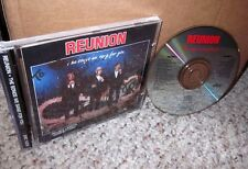 REUNION Songs We Sang For You autograph CD gospel trio Lettermen 1992