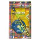 WALTONS SCOTTISH TIN PENNY WHISTLE CD PACK - CD + BOOK + D WHISTLE 08AWAL-1530