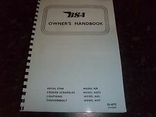 BSA OWNERS HANDBOOK PHOTOCOPY A50 A65L A65FS & A65T 1970 USA EDITION - BH52