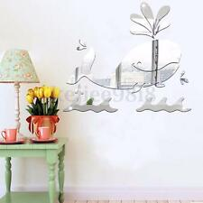 DIY Fish Mirror Decal Sticker Wall Art Craft Acrylic Self Adhesive Home Decor