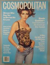 Cosmopolitan Magazine March 1992 Jennifer Flavin Kevin Costner Tim Daly Sex Love