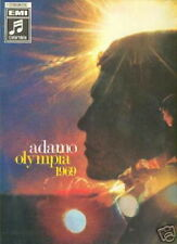 ADAMO 33 TOURS GERMANY OLYMPIA 1969