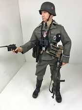"1/6 DRAGON GERMAN 5TH SS""GERMANIA""DIV MP-40+MAUSER C96+HOLSTER BLITZ BBI DID WW2"