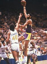 1978 KAREEM ABDUL-JABBAR Los Angeles Lakers ACTION Glossy Photo 8x10 PICTURE WOW