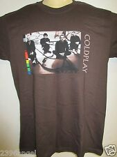 NEW - COLDPLAY TWISTED LOGIC TOUR BAND / CONCERT / MUSIC T-SHIRT MEDIUM