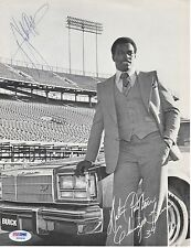 Walter Payton Chicago Bears Vintage Signed AUTOGRAPH 8.5 x 11 Photo PSA DNA