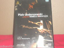 Piotr Anderszewski Plays Beethoven: The Diabelli Variations (DVD, 2004)