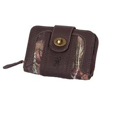 BROWNING & MOSSY OAK COUNTRY CAMO WALLET - LADIES, WOMENS CAMOUFLAGE OLIVIA