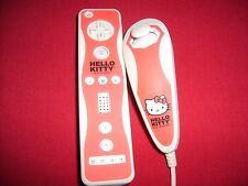 Hello Kitty Remote Controller and Nunchuk for Wii, Fast Shipping