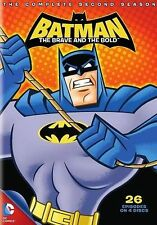 Batman: The Brave and the Bold - Season 2 (DVD, 2014, 4-Disc Set, Canadian)