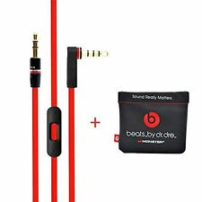 Original Replacement Cable/Wire For Beats By Dre Headphones High Quality + Pouch