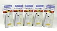 Seal A Meal 11 Inch by 9 Foot Rolls 2 Pack Food Sealer Bags Rolls Vacuum NEW