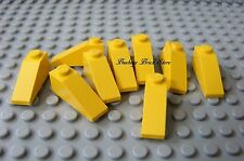 LEGO Yellow Slope 33 Degree 1x3 Lot/ 9