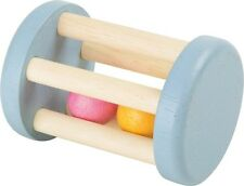 Wooden Grasping Rattle Balls Toy Noisy Motor Skills Rattle Baby Toy