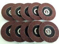 """60 grit flap disc 115mm x 12 sanding for grinder 4 1/2"""""""