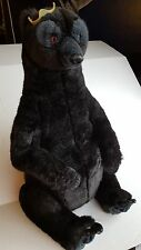 "Big Disney Brave Queen Elinor Plush Mother Bear 28"" Jointed Legs - Black fur"