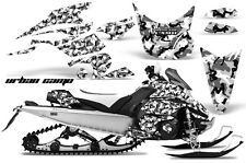 AMR Racing Sled Wrap Yamaha FX Nytro Snowmobile Graphics Kit 08-14 URBAN CAMO W