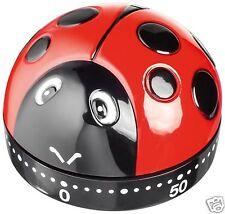 Juez cerrar Mecánico 60 Minutos Kitchen Cooking Timer Ladybird tc301