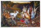 Enchanted Forest 19thc•Fairies,Forest Creatures•John Anster Fitzgerald POSTCARD