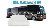 "8"" SHORT Queen RV GEL Memory Foam Mattress w/Free 2 GEL Memory Foam Pillows"