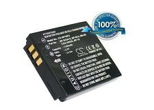 Battery for Panasonic Lumix DMC-FX12EB-K Lumix DMC-FX3EF DMC-FX01EG-A Lumix DMC-