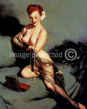 Fascination Vintage Gil Elvgren Pinup Girl Art Poster 18x24