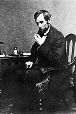 New 5x7 Photo: Reflective Pose of President Abraham Lincoln, 1861