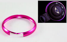 PINK PURPLE METAL RING TRIM FOR MINI COOPER R55 56 R57 R58 R59 R60 SMART KEY FOB