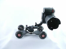 Steadicam dolly for DSLR camera, Blackmagic, GoPro