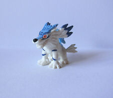 "Bandai Digimon 1"" Garurumon gashapon mini action figure toy Japan Gabumon"