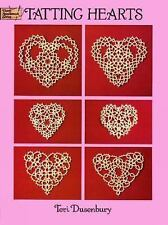 TATTING HEARTS, book, Teri Dusenbury, 12 designs, 100 illustrations/instructions