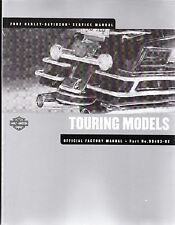2002 Harley Touring Ultra Classic Electra Glide FLH Road King Repair Shop Manual