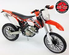 2014 KTM EXC-F 350 1:12 pressofuso Motocross Enduro MX giocattolo modello BICI ARANCIONE