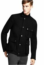 Burberry Brit Colman Men's Military Jacket Black Size XL
