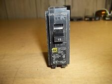 Square D Type T1PO 15A Single Pole Circuit Breaker *FREE SHIPPING*