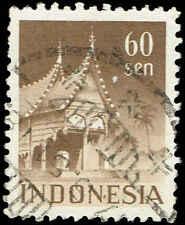 Scott # 323 - 1949 - ' Menangkabau House Sumatra '
